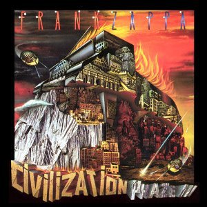 frank zappa - civilization phaze III CD 2-discs 1994 zappa 1995 barking pumpkin used