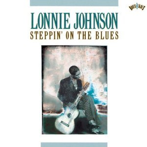 lonnie johnson - steppin' on the blues CD 1990 CBS used mint