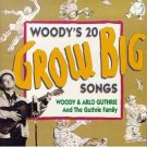 woody & arlo guthrie - woody's 20 grow big songs CD 1992 warner used mint