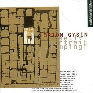 brion gysin - self-portrait jumping CD 1993 made to measure used mint
