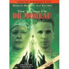 island of dr. moreau - marlon brando & val kilmer DVD unrated director's cut 1997 new line used mint