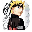 naruto shippuden box set 1 season one original & uncut DVD 2010 viz used mint