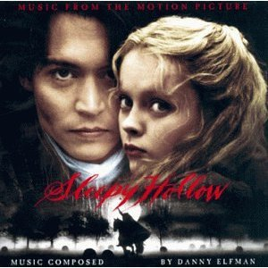 music from the motion picture sleepy hollow - danny elfman CD 1999 hollywood used mint