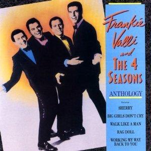 frankie valli & the 4 seasons - anthology CD 1988 rhino 26 tracks used mint