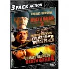 death wish 2, 3, & 4 DVD 2010 garr used mint