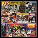 kiss - unmasked LP 1980 polygram made in mexico limited edition multicolor disc used