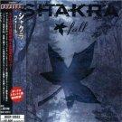 shakra - fall CD 2005 avalon marquee japan 13 tracks used mint