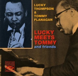 lucky thompson & tommy flanagan - lucky meets tommy CD 1992 camarillo 16 tracks new
