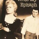 let no man write my epitaph - burl ives shelley winters & james darren VHS columbia used mint