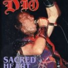 DIO - sacred heart the DVD 1986 Niji rhino 60 minutes 12 tracks used mint