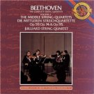 beethoven complete string quartets vol 2 middle string quartets op 59, 74, + 95 CD 3-discs 1983 CBS
