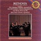 beethoven complete string quartets vol 2 middle string quartets op 59, 74, + 95 CD 3-discs 1983 CBS