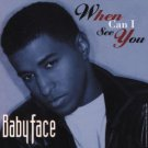 babyface - when can i see you CD single 1994 sony 6 tracks used mint