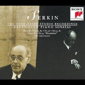 serkin unreleased studio recordings beethoven piano sonatas 1 6 12 13 16 21 30 31 32 3CDs 1994 sony