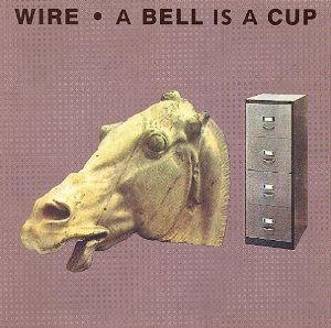 wire - a bell is a cup until it is struck CD 1988 mute enigma 14 tracks used mint