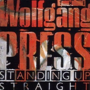 wolfgang press - standing up straight CD 1986 nippon columbia