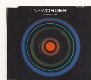 new order - blue monday 1988 CD single 1983 1988 factory 4 tracks used mint