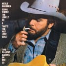 merle haggard - going where the lonely go & that's the way love goes CD 2005 sony S&P used mint