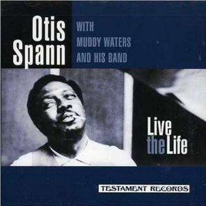 otis spann - live the life CD 1997 testament records 16 tracks used mint