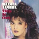 debra torre - step it out CD 1990 esquire 8 tracks used mint
