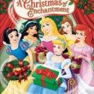 disney princess - a christmas of enchantment DVD 2005 disney used mint
