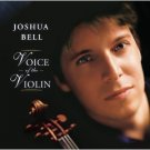 joshua bell - voice of the violin CD + DVD 2006 sony used mint