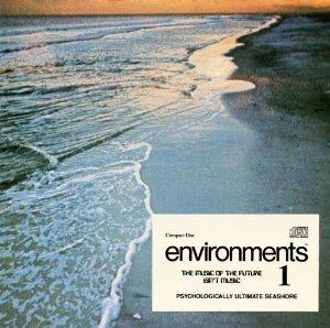 environments 1 - psychologically ultimate seashore CD 1987 atlantic used mint