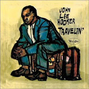 john lee hooker - travelin' CD 2000 rhino collectables 12 tracks used mint