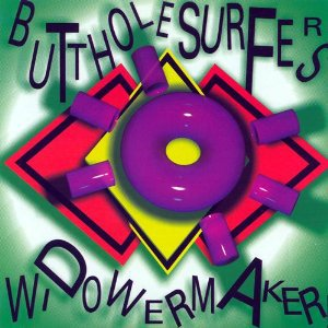 butthole surfers - widowermaker CD ep 1989 touch and go records 4 tracks used mint