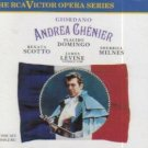 giordano - andrea chenier - domingo scotto milnes levine CD 2-disc box 1990 RCA used mint