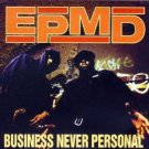 EPMD - business never personal CD 1993 rush def jam chaos 11 tracks used mint