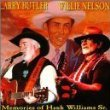 larry butler and willie nelson - memories of hank williams sr. CD 2000 BSW used mint