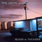 neon judgement - blood & thunder CD 1989 play it again sam made in canada used mint