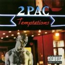 2pac - temptations CD single 1995 interscope atlantic 6 tracks used mint