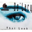 de'lacy - that look CD single zyx made in germany 3 tracks used mint