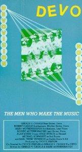 devo - the men who make the music VHS 1989 warner used mint