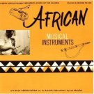 North Africa-Islamic Influence South Of The Sahara - African Musical Instruments LP 1970 asch used