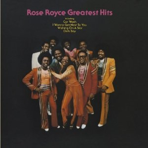rose royce - greatest hits CD 1980 warner whitfield 14 tracks used mint