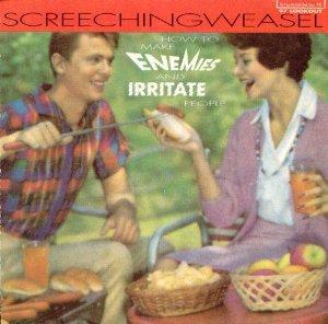 screeching weasel - How to Make Enemies & Irritate People CD 1994 lookout 13 tracks used mint