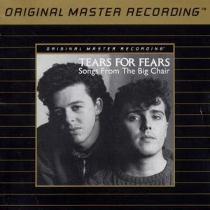 tears for fears - songs from the big chair GOLD CD 1985 mobile fidelity spund lab used
