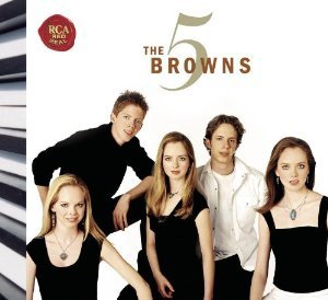 the 5 browns - the 5 browns CD duel disc 2005 RCA used