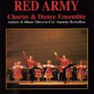red star red army chorus & dance ensemble - live! in concert VHS MPA 60 minutes color used