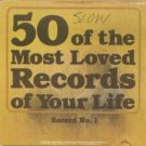 50 of the most loved records of your life - various artists CD 2discs 1991 sony used