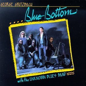 george gritzbach with the unknown blues band - blue bottom CD 1989 alcazar used mint