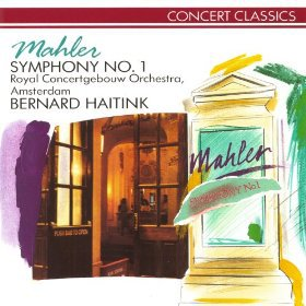 mahler symphony no.1 - royal concertgebouw orch amsterdam + haitink CD 1989 philips used