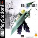 playstation - final fantasy VII - squaresoft 1997 used mint