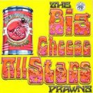 big cheese all stars - prawns CD 1995 big cheese records 4 tracks used mint