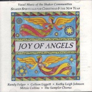 joy of angels - shaker spirituals for christmas & the new year CD 1995 sampler 38 tracks mint