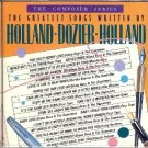 greatest songs written by holland dozier holland - various artists CD 1978 1985 motown 20 tracks
