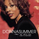 donna summer - i will go with you (con te partiro) CD 1999 sony 6 tracks used mint